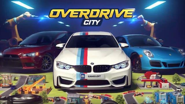 『Overdrive City』マシン製造、コレクション、レーシングあり!世界有数のモータースポーツ企業へと発展させよう