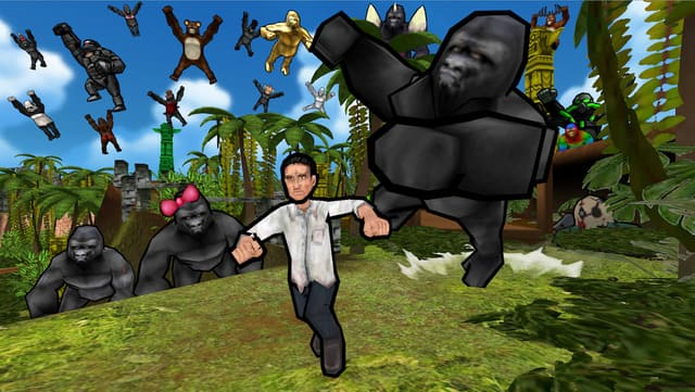 『ゴリラ・オンライン』オンライン対応鬼ごっこゲーム!ゴリラ達は人類に反旗を翻した