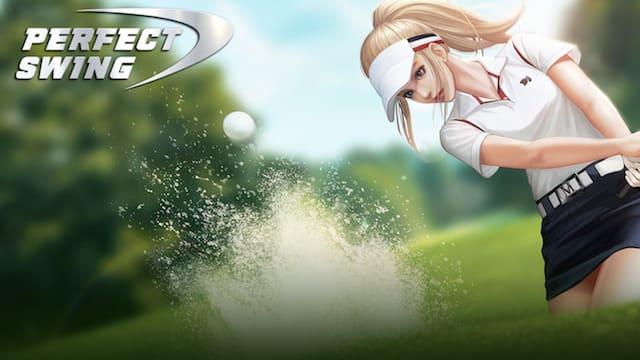 『パーフェクトスイング – ゴルフ』対戦プレイで世界中のゴルファーとリアルタイムマルチプレイで競おう