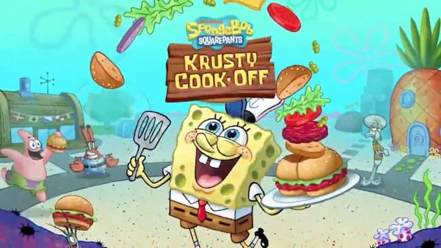 『スポンジ・ボブ : カニカーニ・クックオフ』レストラン&キッチンで面白おかしく料理しよう