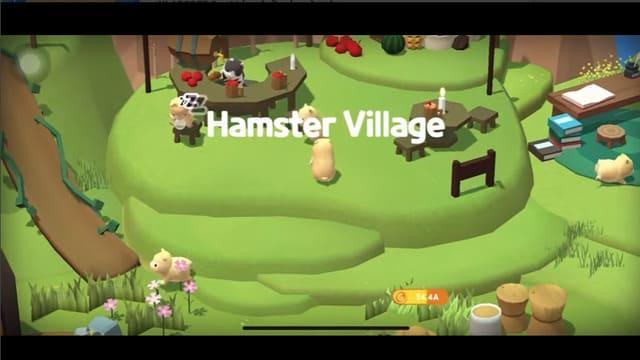 『ハムスタービレッジ』童話のようなハムスターたちの村を作り、いろんなハムスターを収集しよう!
