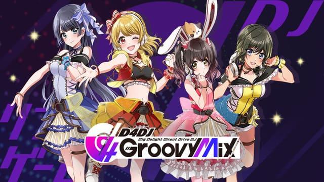 『D4DJ Groovy Mix(グルービィミックス)』オリジナル曲、アニメ、特撮、J-POPのカバー曲、有名ドラマ曲、ゲームのインスト曲