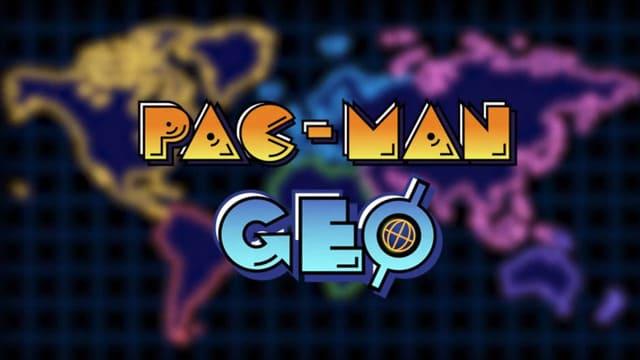 『PAC-MAN GEO』地理情報ゲーム!コレクションを集めてパックマンの能力をパワーアップしよう