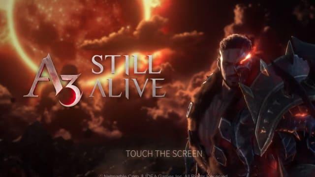 A3: STILL ALIVE スティルアライブ