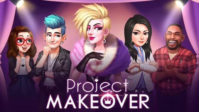 『Project Makeover』友達を訪問して、みんなのアバターのスタイリングをチェック!パワーアイテムでステージを突破しよう