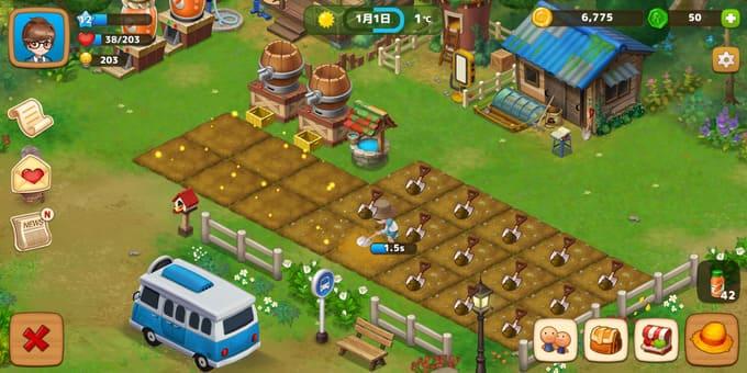 『リアルファーム』ゲームレビュー評価!野菜を育てて実際に受け取れる新感覚農業シミュレーション